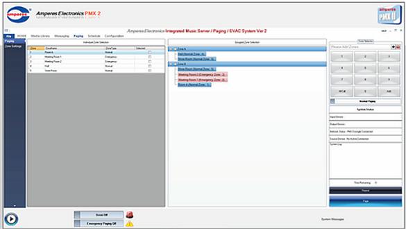 Amperes Music Server Software - PMX II