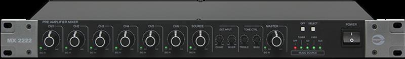 Amperes Pre-amplifier mixer - MX2222
