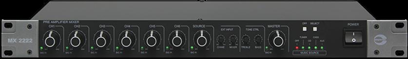 Amperes Pre-amplifier mixer -MX222