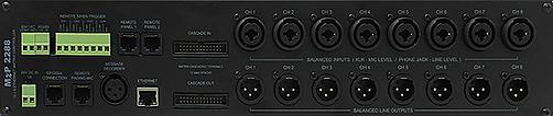 Amperes Matrix Controller with LAN Rear view - MxP2288