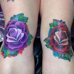 Instagram - Hayley's knees all done