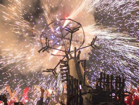 CAVALLO DI FUOCO: i fuochi d'artificio di Ripatransone