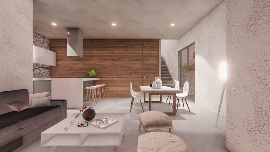 Render Interior 1N