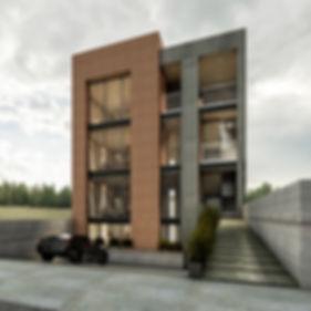 Premisa de tener un espacio con gran apertura e iluminación, causar un alto contraste en relación a las viviendas colindantes lo que lo hace sobresalir estéticamente.
