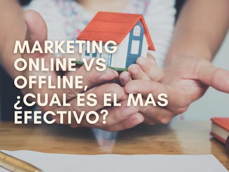 Marketing online vs offline. ¿Cuál es el mas efectivo para vender tu casa?