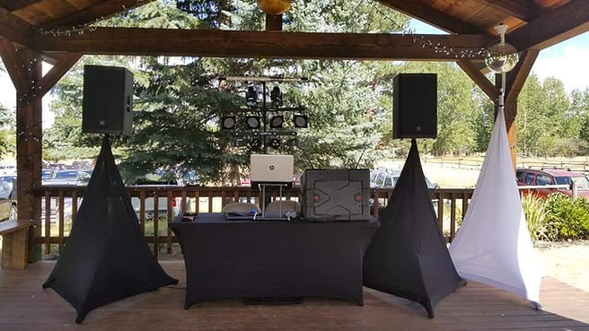 Desert Sounds Reception Setup