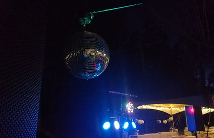 We even bring the Mirror Ball!