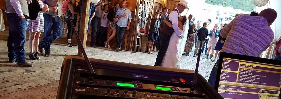 First Dance, Barn Weddings