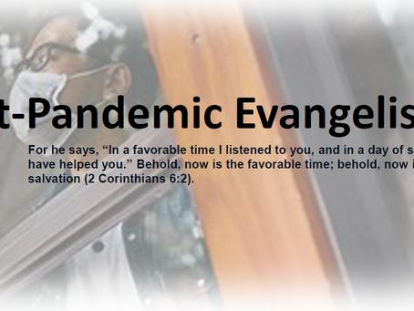 Evangelism Training Session 2 Thursday Feb 25 at 7PM...