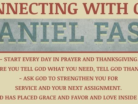2021 Daniel Fast Instructions...