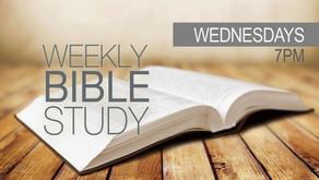 Wed. Night Bible Study