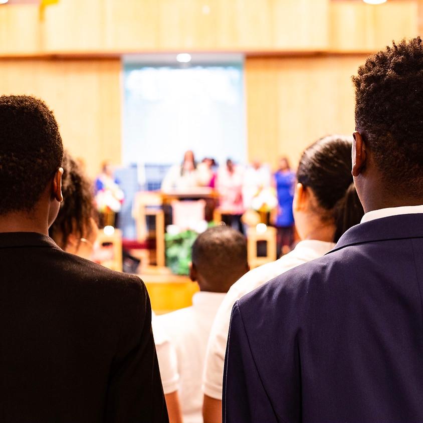Youth Ushers Practice