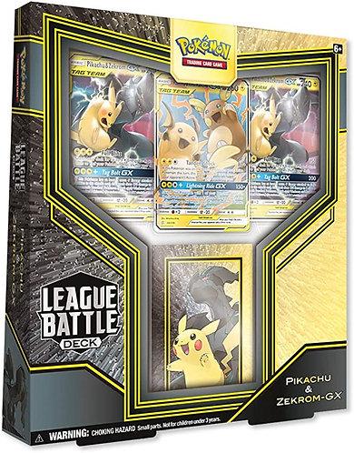 POKEMON TCG: LEAGUE BATTLE DECKS – Pikachu & Zekrom-GX