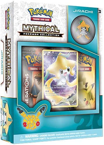 Pokemon : Mythical Pokemon Collection Jirachi