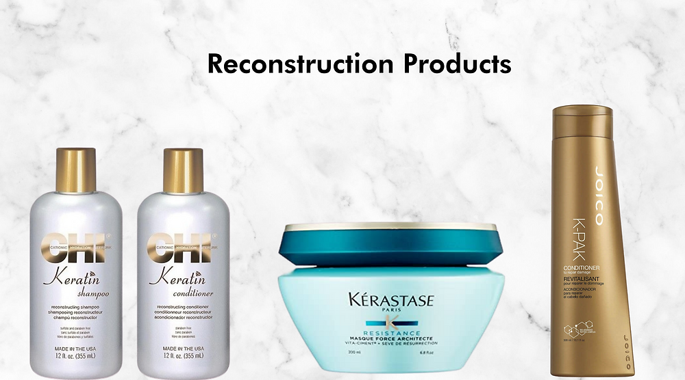 reconstruction hair products