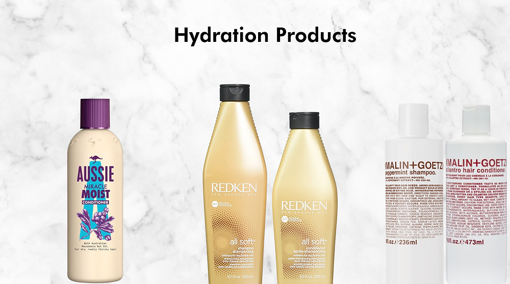 hydration hair products