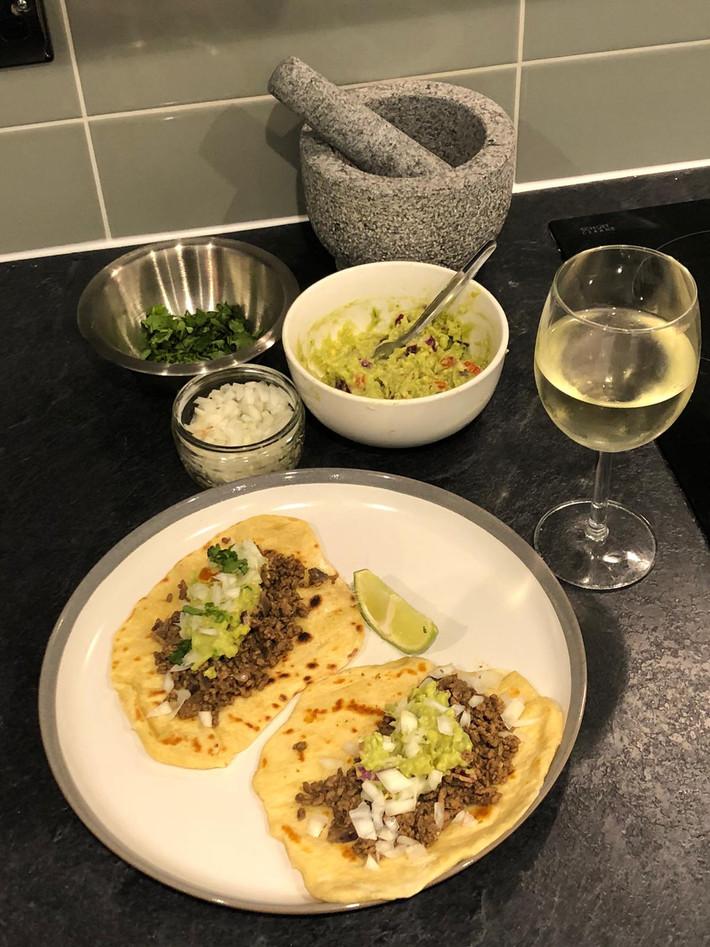 Homemade Soft Tacos & Guac Class