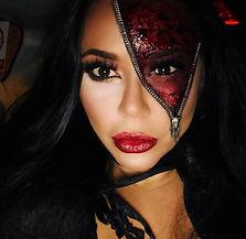 Halloween Makeup Zip