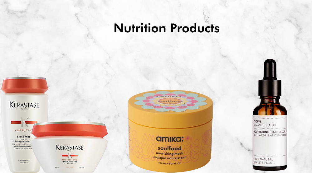 nutrition hair products