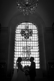 Couple in silhouette