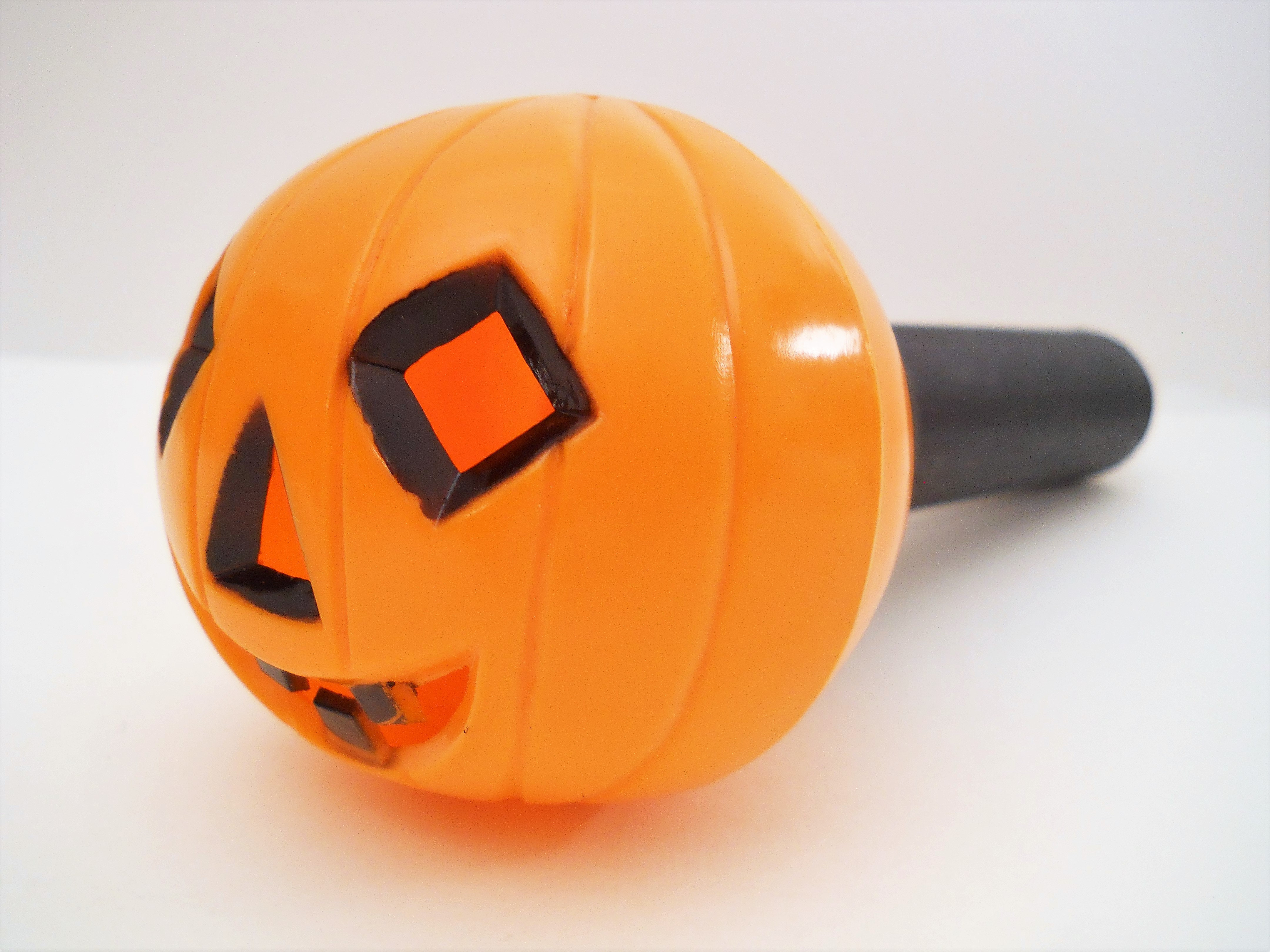 vintage hard plastic halloween jack olantern flashlight hong kong - Vintage Halloween Decorations For Sale