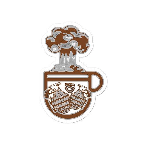 Cup-a-Boom sticker