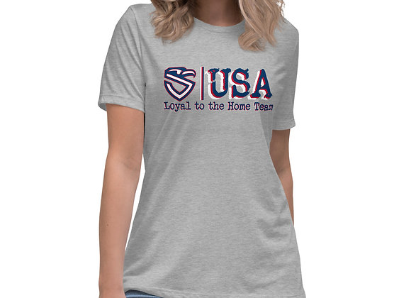 Women's Loyal to the Home Team Relaxed T-Shirt