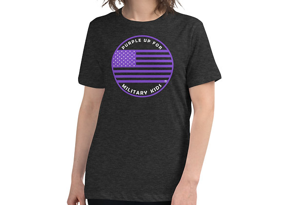 "Women's ""Purple Up for Mil Kids"" Supporter T-Shirt"