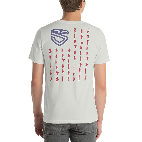 Armed Forces Shield Flag T-Shirt