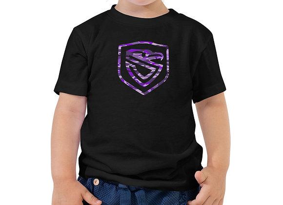 Toddler Purple Camo Shield Tee