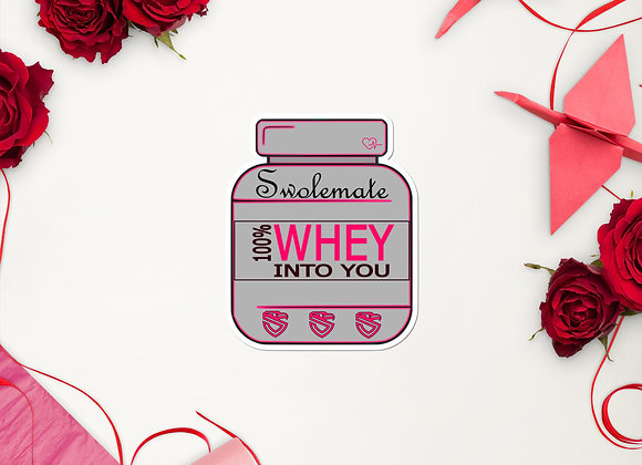 Whey Into You stickers