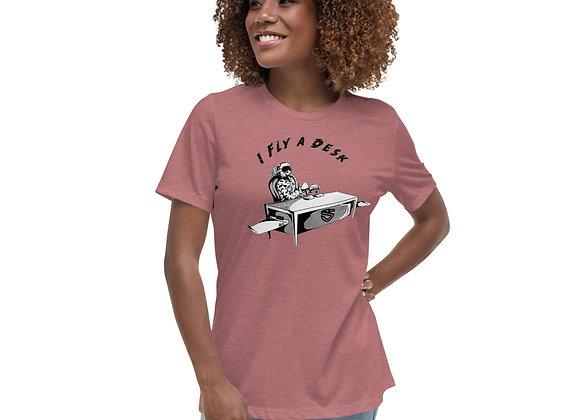 Women's Fly A Desk T-Shirt