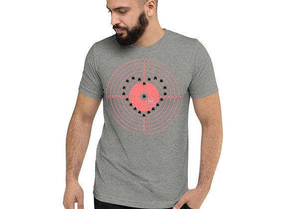Tri-Blend Heart Target T-shirt