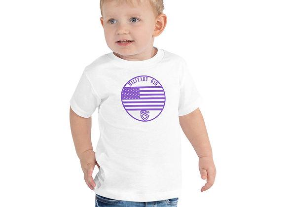 Toddler Military Kid Flag Tee