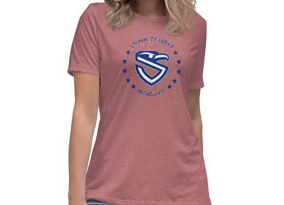 Women's USAF Shield Relaxed T-Shirt