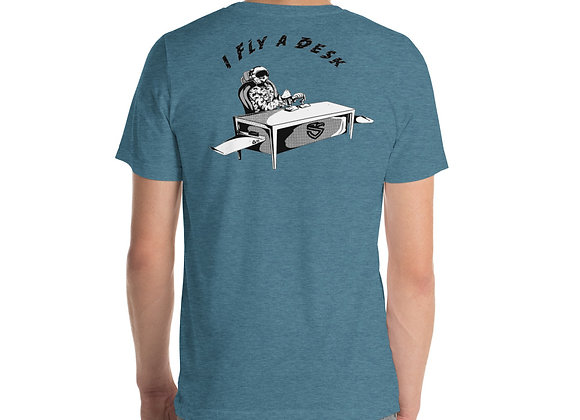Fly A Desk T-Shirt (2-sided)