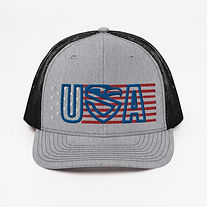 snapback-trucker-cap-heather-grey-black-