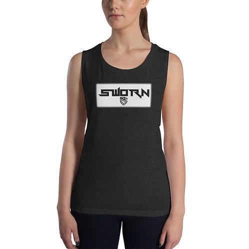 Ladies' Sworn Muscle Tank