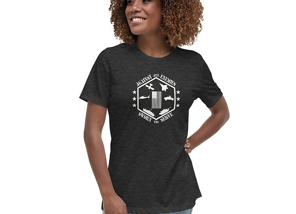 Women's Against All Enemies Relaxed T-Shirt