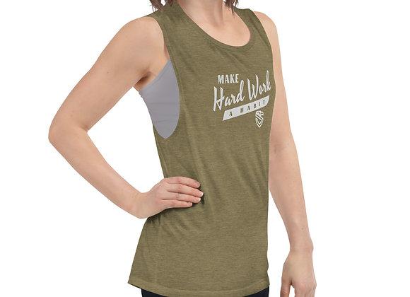 Ladies' Hark Work Habit Muscle Tank