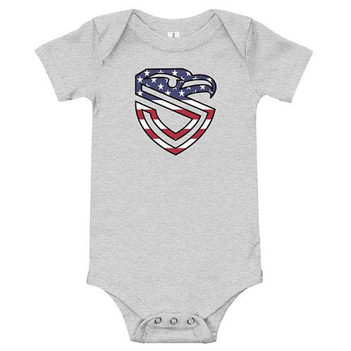 Baby American Shield Onesie