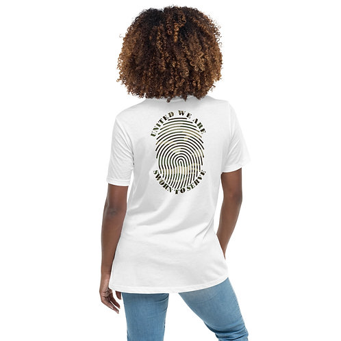 Women's United We Are Relaxed T-Shirt