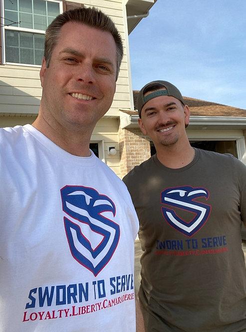 Original Sworn to Serve Shield T-Shirt