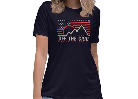 Women's Enjoy Your Freedom OTG Relaxed T-Shirt
