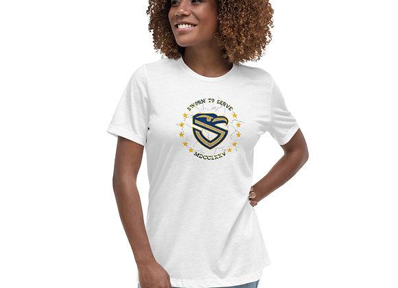 Women's USN Relaxed T-Shirt