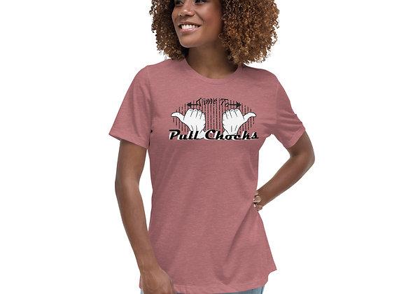 Women's Pull Chocks Relaxed T-Shirt