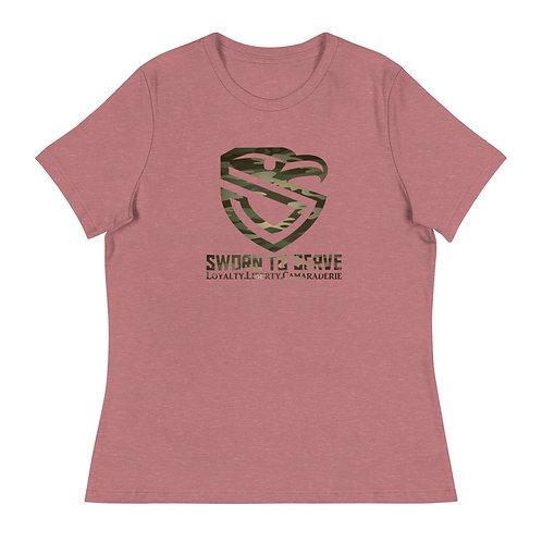 Women's Camo Original Shield Relaxed T-Shirt