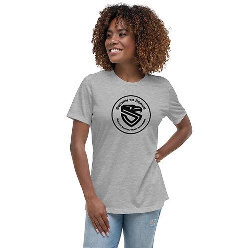 Women's Sworn Badge Relaxed T-Shirt