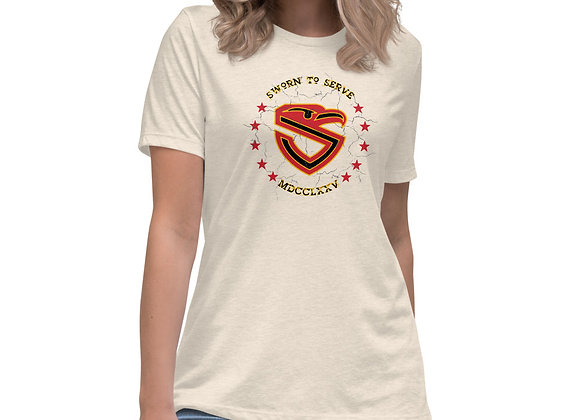 Women's USMC Shield Relaxed T-Shirt