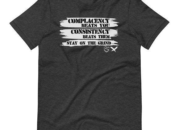 Complacency vs Consistency T-Shirt